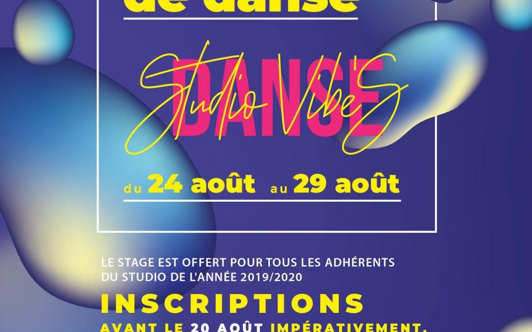 Stage Pré-Rentrée